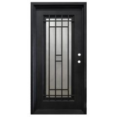Cordoba Wrought Iron Entry Door Left Swing 3068