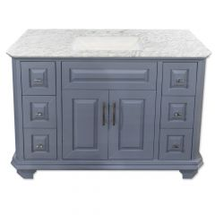 "Konnor 48"" Gray Vanity"