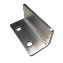 Barn Door Hardware 'L' Floor Guide - Steel