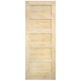 """Barn Door - 5 Panel - Pine - 42"""" x 84"""""""