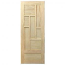 "Barn Door - Shoji - Pine - 28"" x 84"""