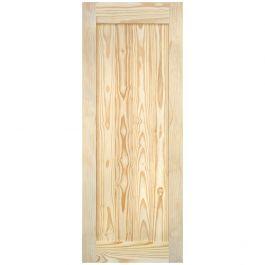 """Barn Door - Vertical Plank - Pine - 28"""" x 84"""""""