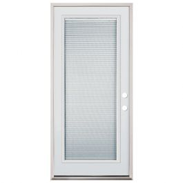 "32"" Full Mini Blind Fiberglass Door PHL"