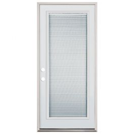 "32"" Full Mini Blind Fiberglass Door PHR"