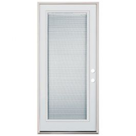 "36"" Full Mini Blind Fiberglass Door PHL"