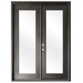 Terazza Bronze Wrought Iron Retrofit Patio Doors - Right Swing 6080