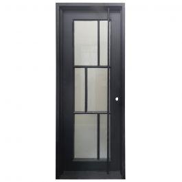 Modelo Wrought Iron Entry Door Left Swing 3080