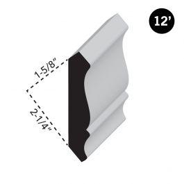 Crown 8010 Moulding - 12'
