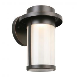 Longmont Oil Rubbed Bronze Outdoor Integrated LED Wall Lantern Sconce