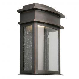 Fairview Oil Rubbed Bronze Integrated LED Outdoor Wall Sconce