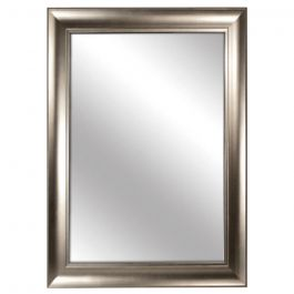 "Silver Framed Mirror 28"" x 40"""