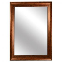 "Bronze Framed Mirror 28"" x 40"""