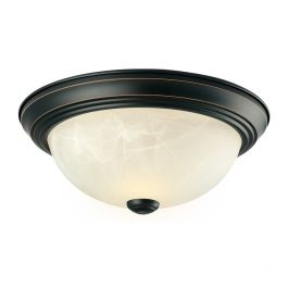 Cupola 2-Pack Ceiling Lights - Oil Rubbed Bronze
