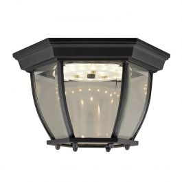 Canterbury LED Outdoor Wall Light - Black