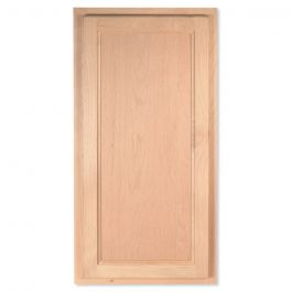 "Wall 15"" x 30"" Unfinished Alder Kitchen Cabinet"