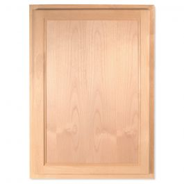"Wall 21"" x 30"" Unfinished Alder Kitchen Cabinet"