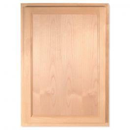 "Wall 21"" x 30"" Unfinished Alder Kitchen Cabinet"