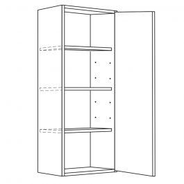 "Wall Cabinet 21"" x 42"" Avalon White Kitchen Cabinet"