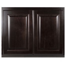 Bridge Wall 30 Quot X 24 Quot Classic Onyx Kitchen Cabinet Seconds And Surplus