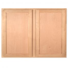 "Wall 36"" x 30"" Unfinished Alder Kitchen Cabinet"