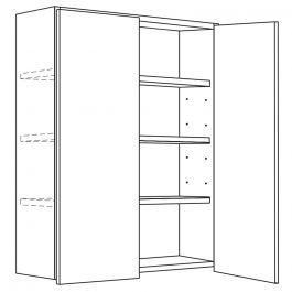 "Wall Cabinet 36"" x 42"" Avalon White Kitchen Cabinet"