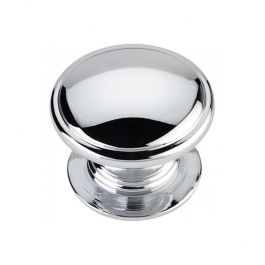 #45 Round Cabinet Knob - Polished Chrome