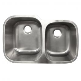 Undermount Stainless Steel 60/40 Sink