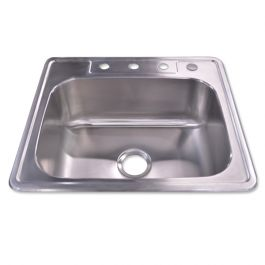 Y-T100 Drop-In Stainless Steel Sink