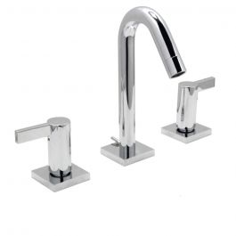 Emory Widespread Lavatory Faucet - Polished Chrome