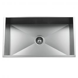 ZS-9300 Zero Radius Undermount Stainless Steel Sink