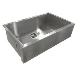 ZS-FH01-S Farmhouse Square Drain Stainless Steel Sink