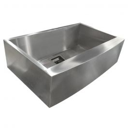 ZS-FH02-S Farmhouse Square Drain Stainless Steel Sink