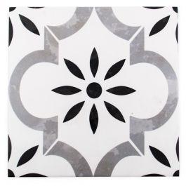 "Azila Encaustic 8"" x 8"" Mosaic Tile"
