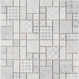 Premier Block Parchment Mosaic Tile