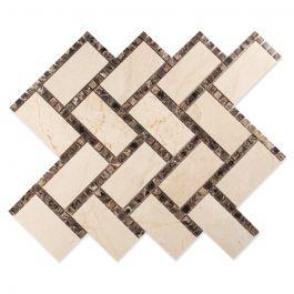 """Manhattan Victoria Polish 12"""" x 12"""" Mosaic Tile"""