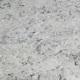 """Colonial White 110"""" Prefabricated Granite Kitchen Countertop"""