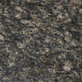 "Sapphire Brown 110"" Prefabricated Granite Kitchen Countertop"