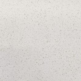 """Arva White 110"""" Prefabricated Quartz Kitchen Countertop"""