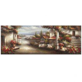European Village Acrylic Painting