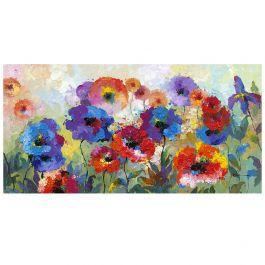 Flower Garden Acrylic Painting