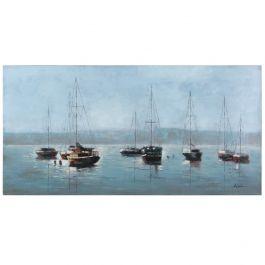 Misty Fog Acrylic Painting