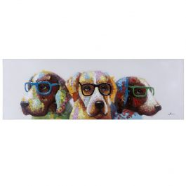 Cool Dogs Acrylic Painting