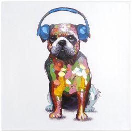 Dog Beats III Acrylic Painting