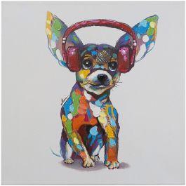 Dog Beats IV Acrylic Painting