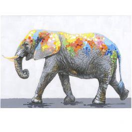 Dazzling Elephant Acrylic Painting