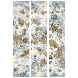 Eastfound Elegance Triptych Acrylic Painting