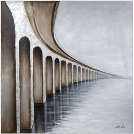 Bridge to Nowhere Acrylic Painting
