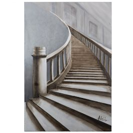 Up Stairs Acrylic Painting