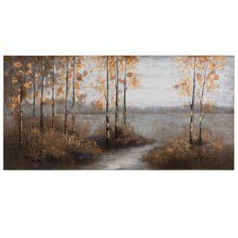 Walking Home Acrylic Painting