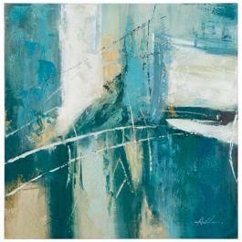 Blue Wonders Acrylic Painting